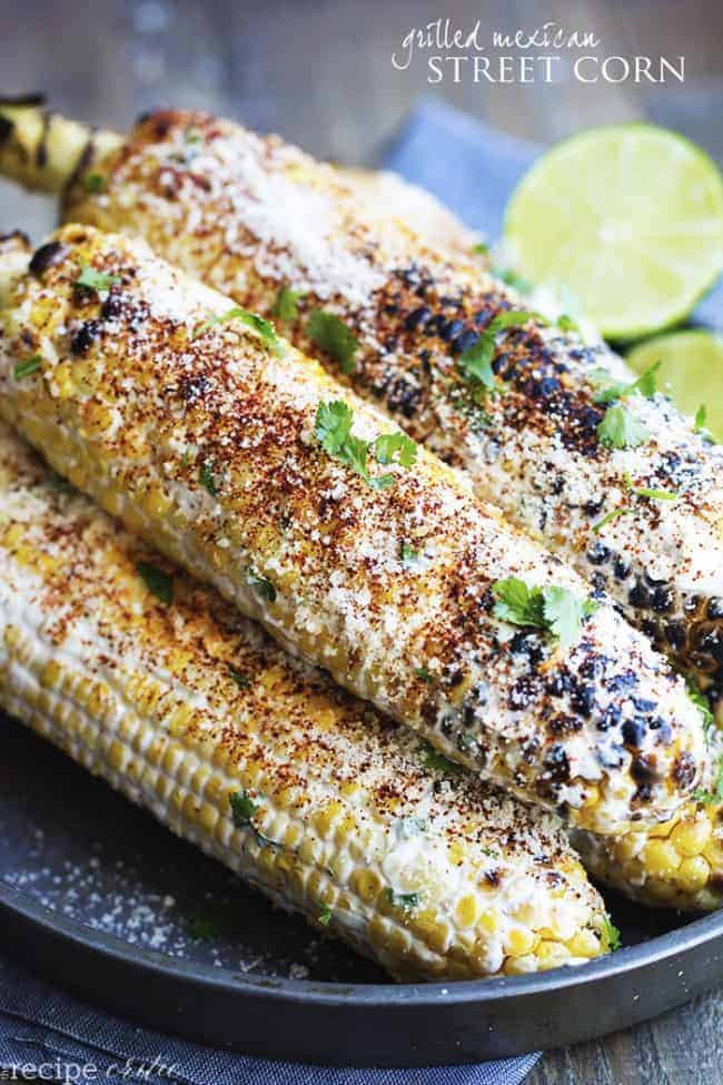 Chilis Roasted Street Corn  Grilled Mexican Street Corn