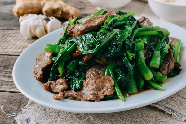 Chinese Beef And Broccoli  Beef with Chinese Broccoli e Plate Meal The Woks of Life
