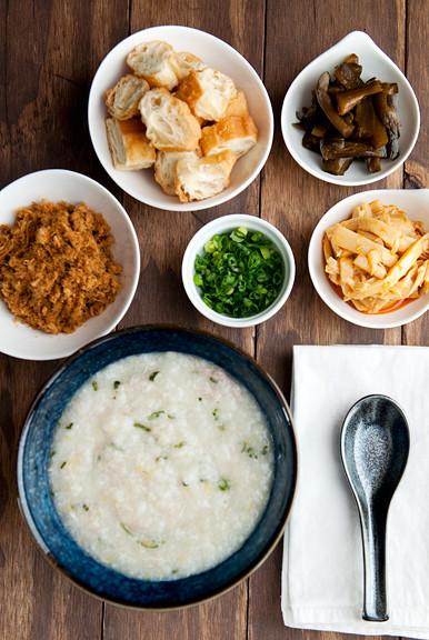 Chinese Breakfast Recipe  chinese chicken congee recipe