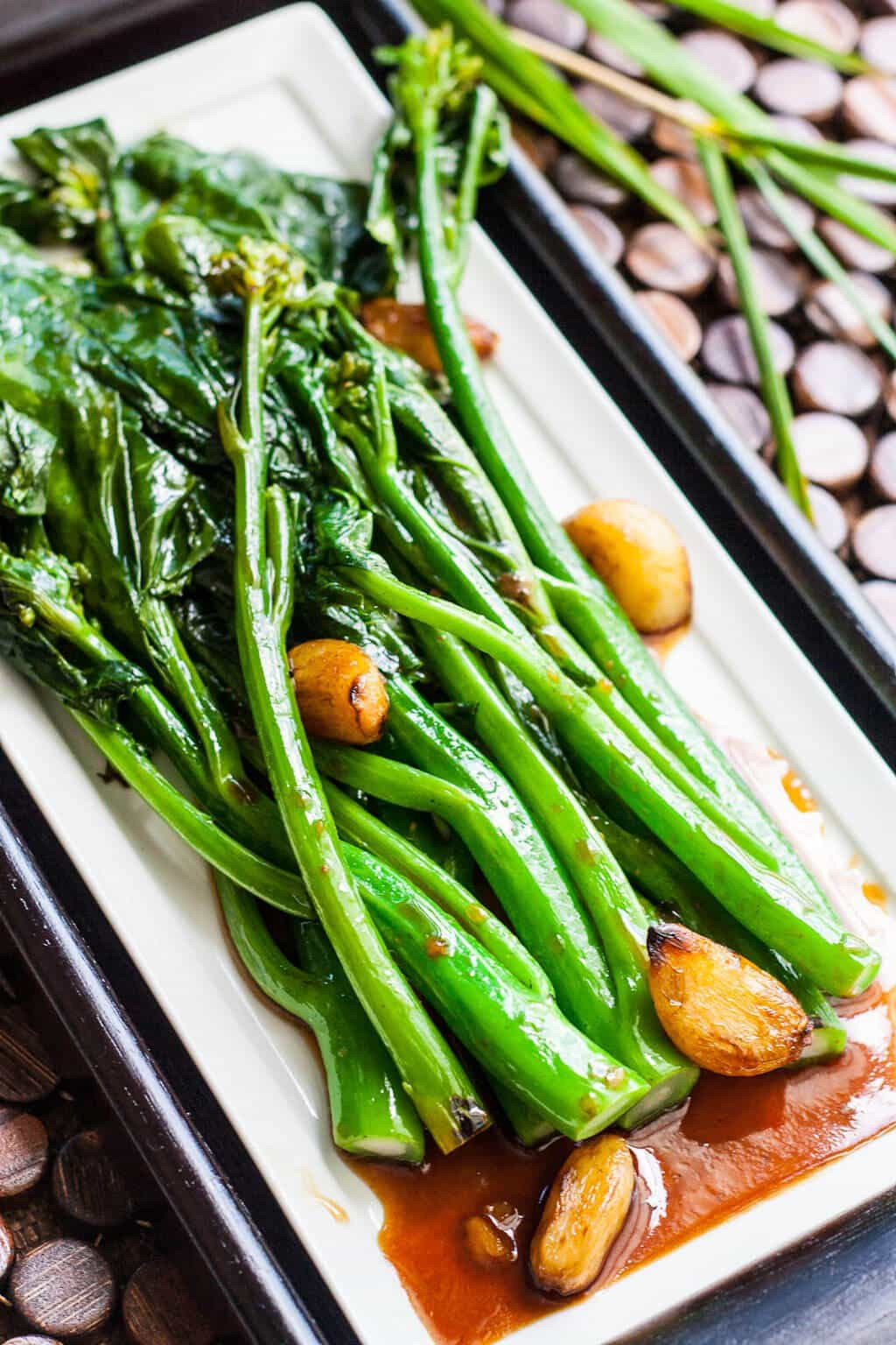 Chinese Broccoli Recipe  Chinese Broccoli Gai Lan with Oyster Sauce Steamy