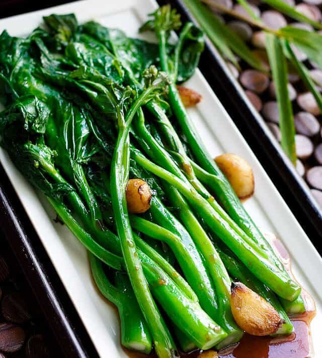 Chinese Broccoli Recipe  Chinese Broccoli with Oyster Sauce Recipe Gai Lan