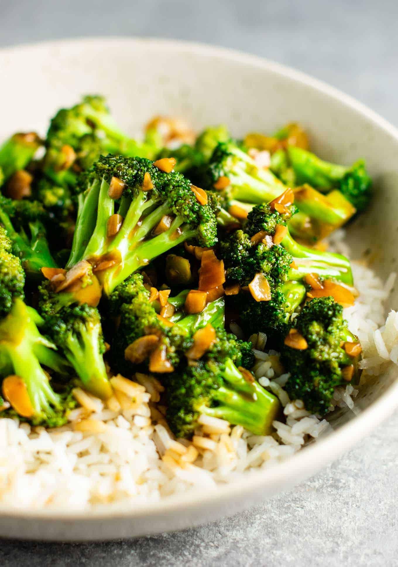 Chinese Broccoli Recipe  Broccoli with Garlic Sauce Recipe Build Your Bite
