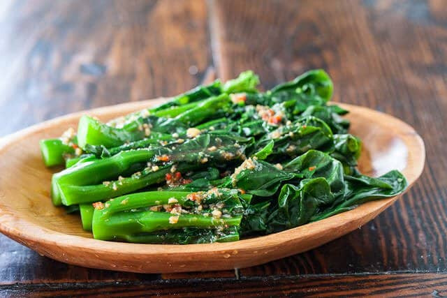 Chinese Broccoli Recipe  Chinese Broccoli with Garlicky Ginger Miso Steamy