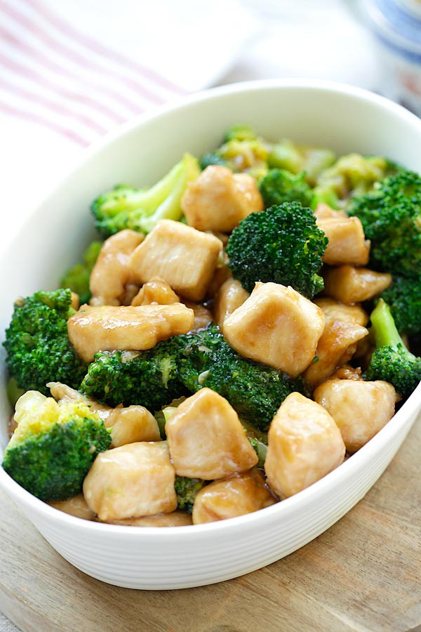 Chinese Broccoli Recipe  Chinese Chicken and Broccoli Homemade at Takeout