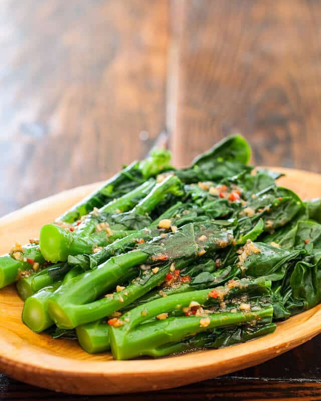 Chinese Broccoli Recipe  Chinese Broccoli with Garlicky Ginger Miso • Steamy