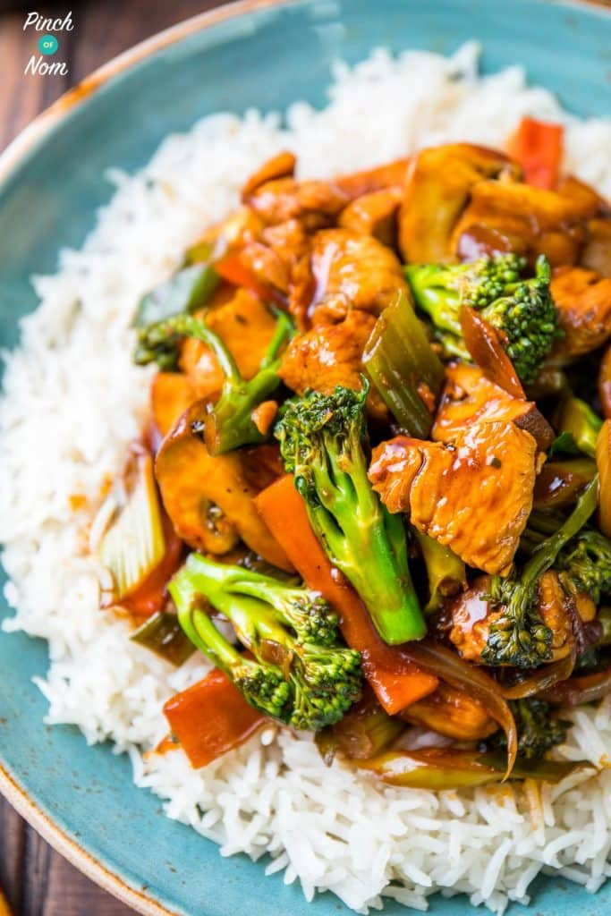 Chinese Chicken And Broccoli  Syn Free Chinese Chicken and Broccoli