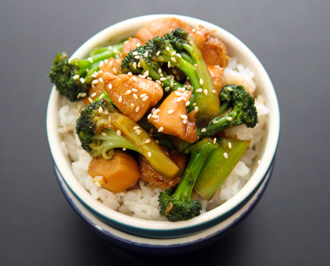Chinese Chicken And Broccoli  Chicken and Broccoli Table for Two