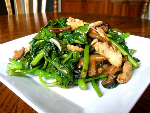 Chinese Chicken And Broccoli  Chicken and Chinese Broccoli Stir Fry The Woks of Life