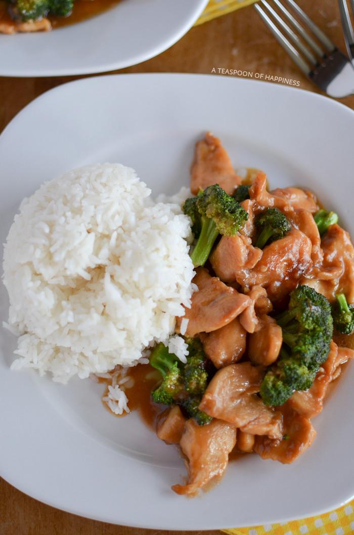 Chinese Chicken And Broccoli  oriental chicken broccoli