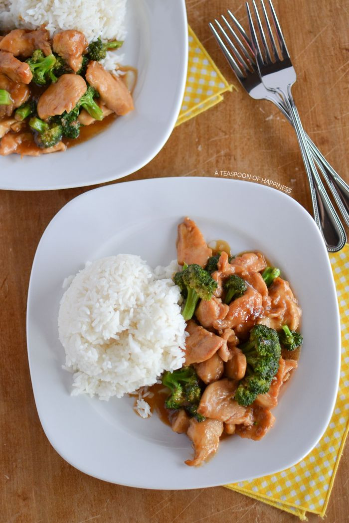 Chinese Chicken And Broccoli Recipe  Chinese Chicken and Broccoli Recipe