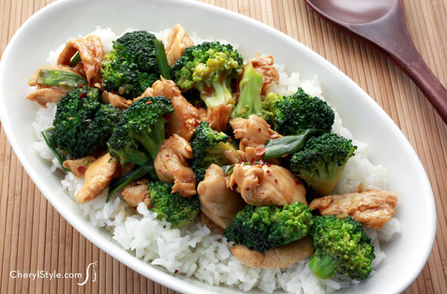 Chinese Chicken And Broccoli Recipe  Healthy Chicken and Broccoli Stir Fry Recipe