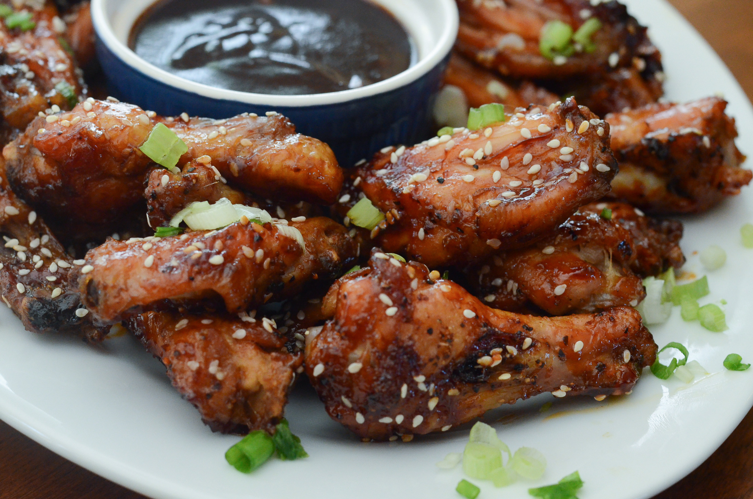 Chinese Chicken Wings  Sticky Baked Asian Chicken Wings Valerie s Kitchen