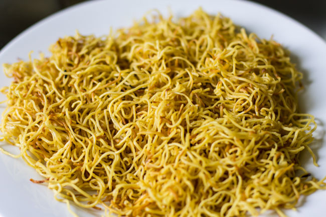 Chinese Crispy Noodles  Hong Kong Crispy Noodles Savoring Spoon — Savoring Spoon