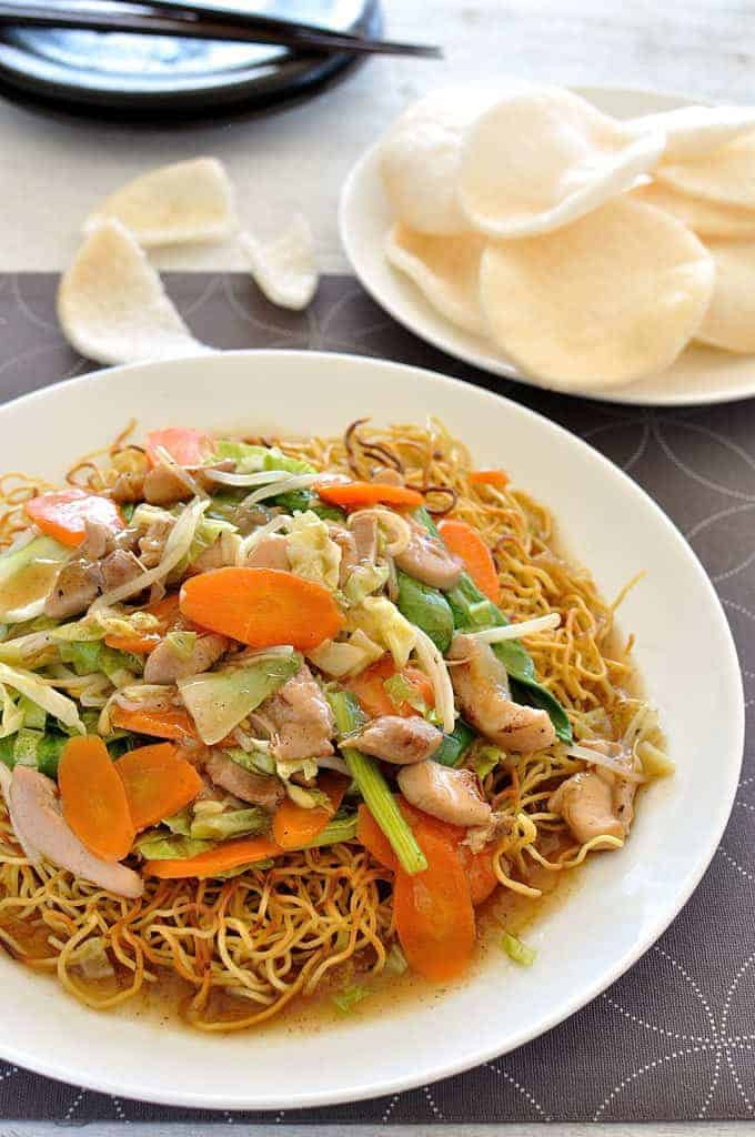 Chinese Crispy Noodles  Crispy Chinese Noodles with Chicken