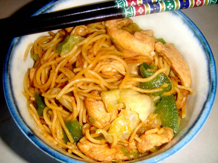 Chinese Crispy Noodles  Chinese Crispy Noodles with Chinese and Ve ables
