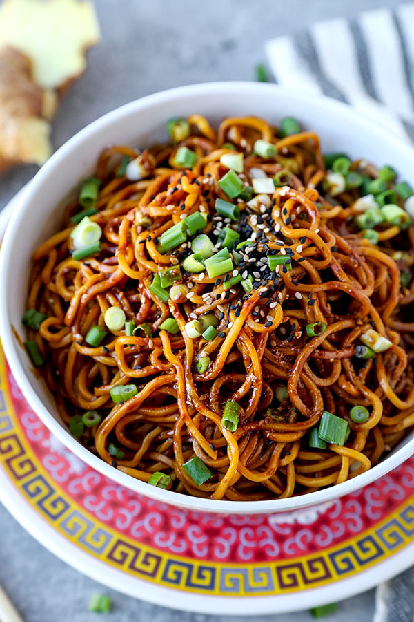 Chinese Egg Noodles Recipe  Aromatic Sour Egg Noodles Pickled Plum Food And Drinks