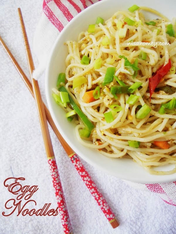 Chinese Egg Noodles  Egg Noodles Chinese Style
