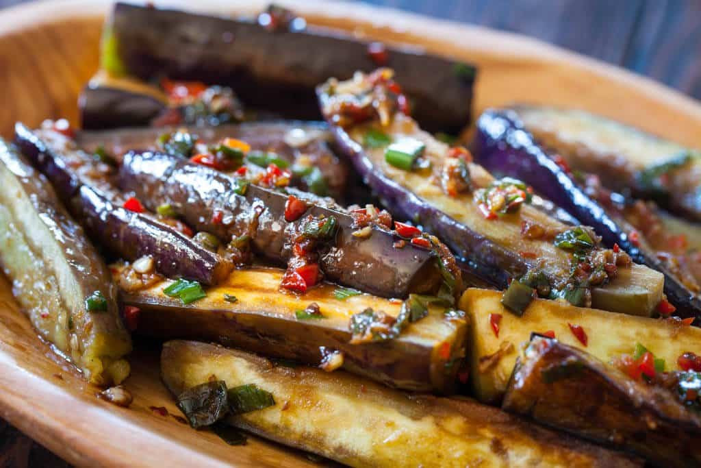 Chinese Eggplant Recipes  Chinese Eggplant with Spicy Garlic Sauce Steamy Kitchen