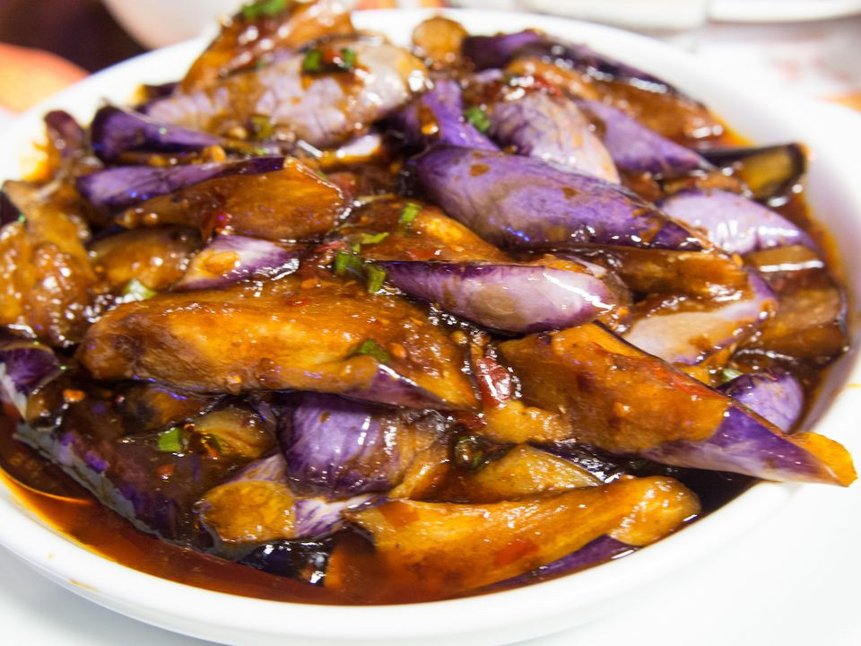 Chinese Eggplant Recipes  Szechuan Eggplant in Garlic Sauce