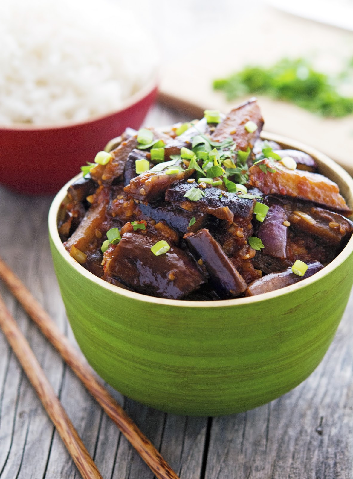 Chinese Eggplant Recipes  The Iron You Spicy Vegan Chinese Eggplant