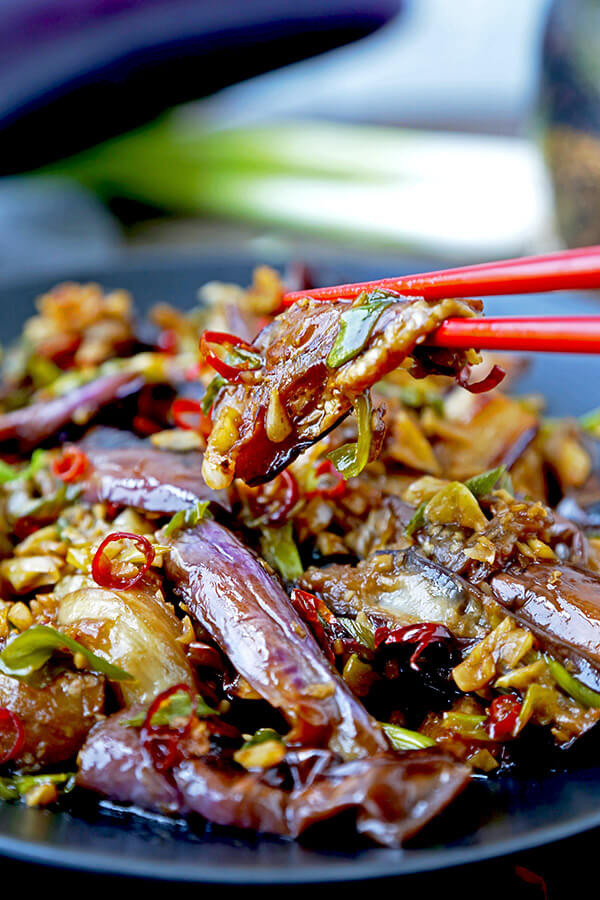 Chinese Eggplant Recipes  Chinese Eggplant with Garlic Sauce Pickled Plum Food And