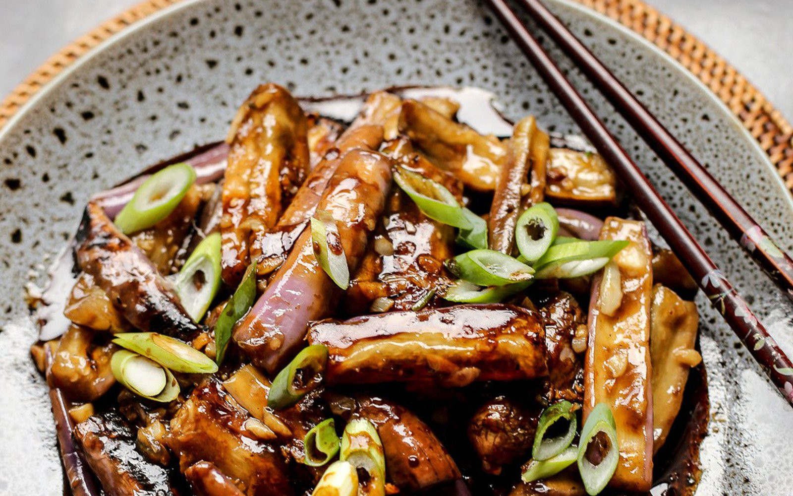 Chinese Eggplant Recipes  Chinese Eggplant With Garlic Sauce [Vegan Grain Free