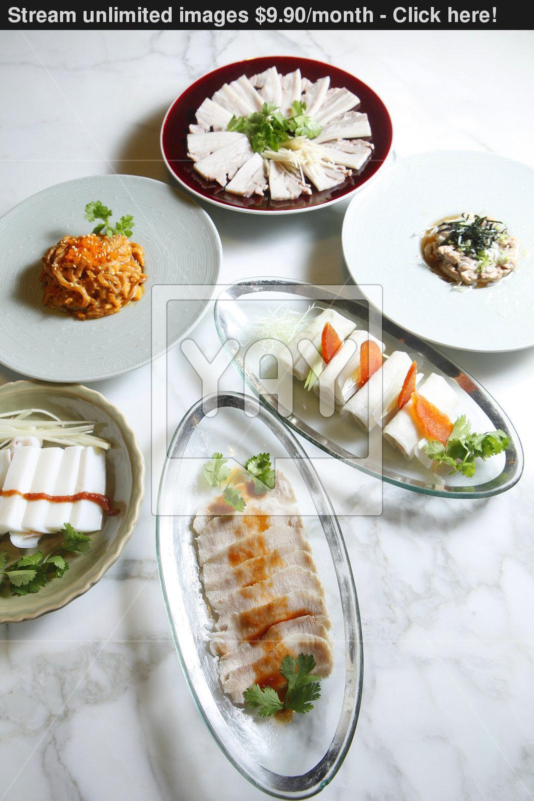Chinese Food Appetizers  Chinese food appetizers image