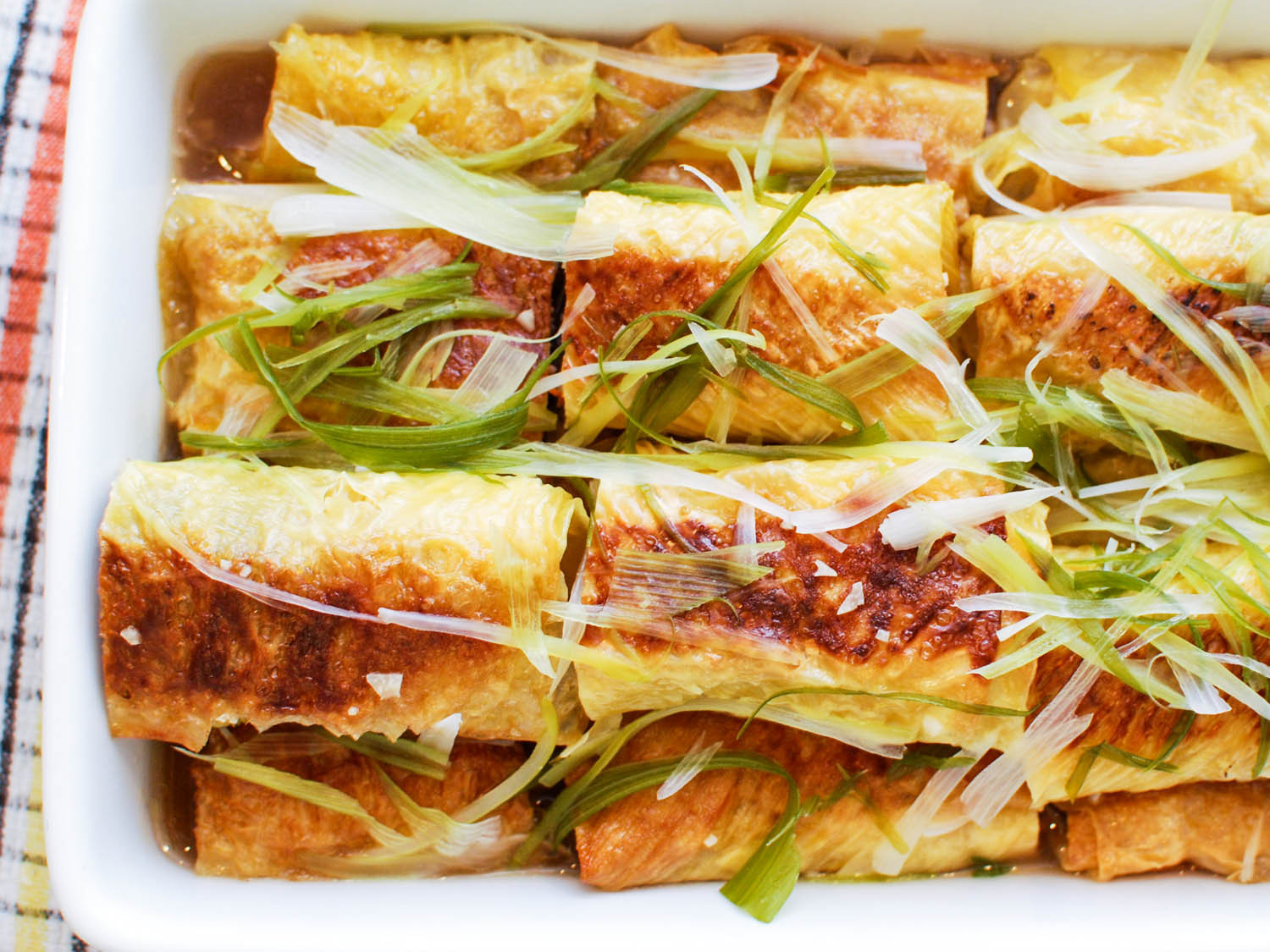 Chinese Food Appetizers  Dim Sum Classics How to Make Pork Stuffed Bean Curd Rolls