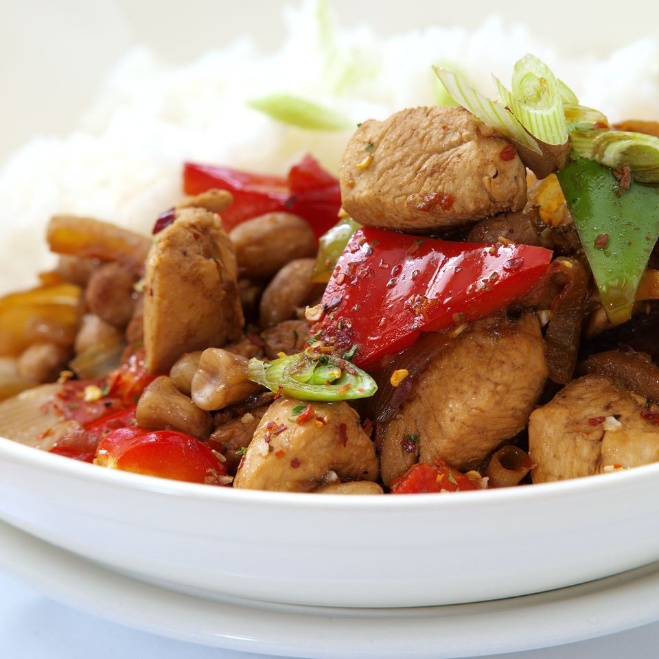 Chinese Fried Chicken  Chinese Stir Fried Chicken with Bell Peppers Recipe