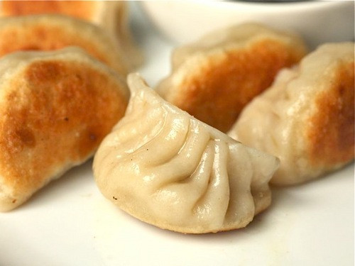 Chinese Fried Dumplings  How to Make Fried Pork and Cabbage Dumplings With Homemade