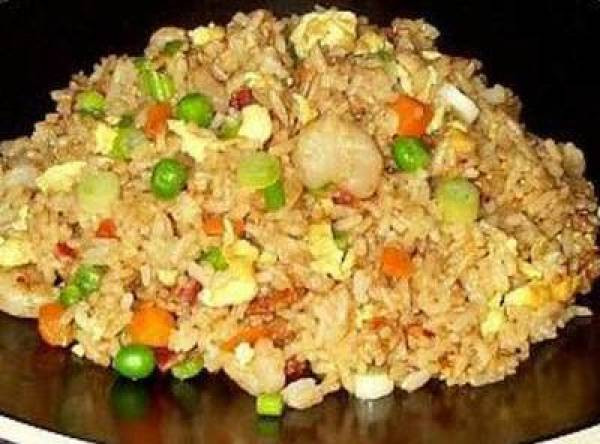 Chinese Fried Rice Restaurant Style  Fried Rice Chinese Restaurant Style Recipe