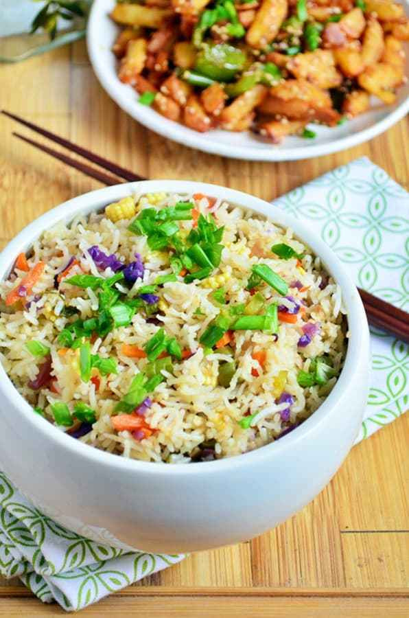 Chinese Fried Rice Restaurant Style  ve able fried rice