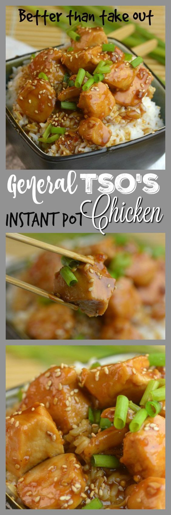 Chinese Instant Pot Recipes  Better than Take Out Instant Pot General Tso s Chicken