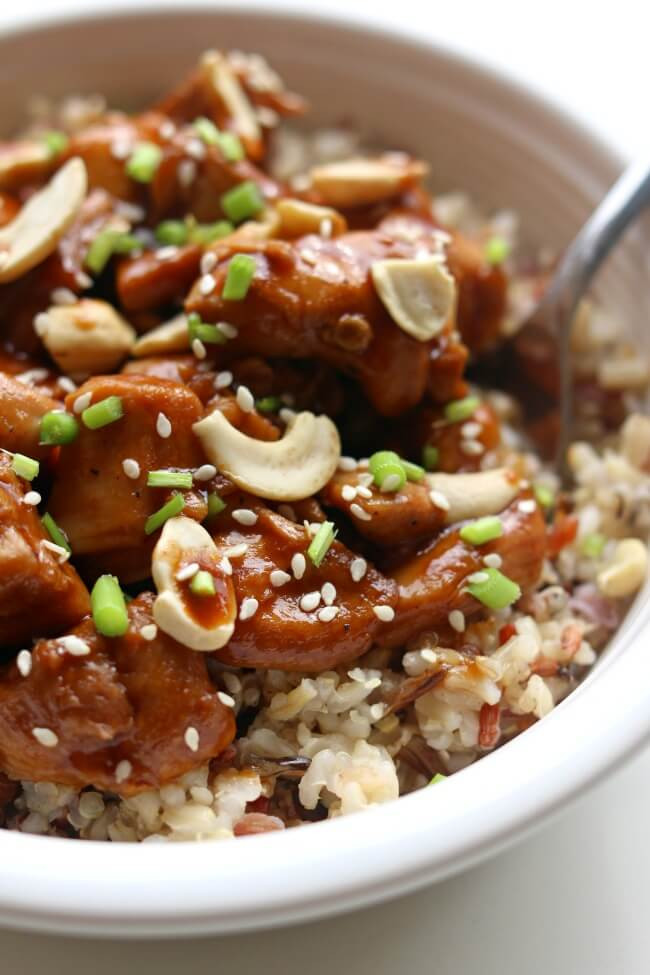 Chinese Instant Pot Recipes  Instant Pot Cashew Chicken 365 Days of Slow Cooking and