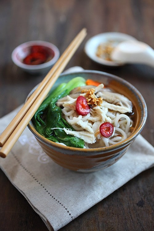 Chinese Noodle Soups Recipes  Chinese Chicken Noodle Soup