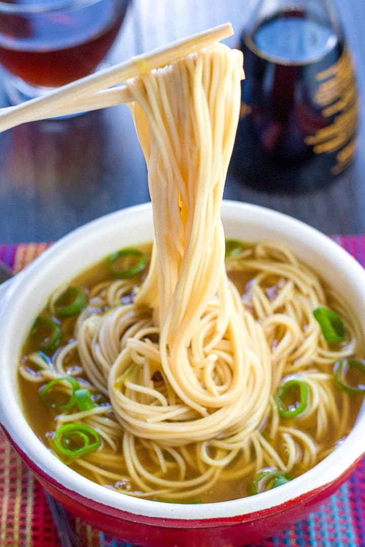 Chinese Noodle Soups Recipes  Quick & Easy Chinese Noodle Soup Erren s Kitchen