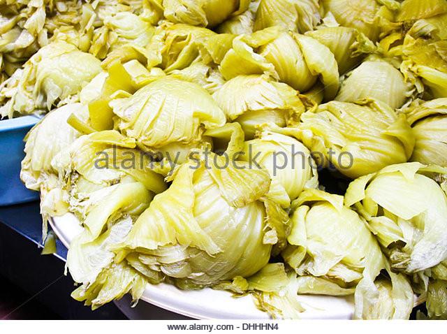 Chinese Pickled Cabbage  Brassica Pekinensis Stock s & Brassica Pekinensis