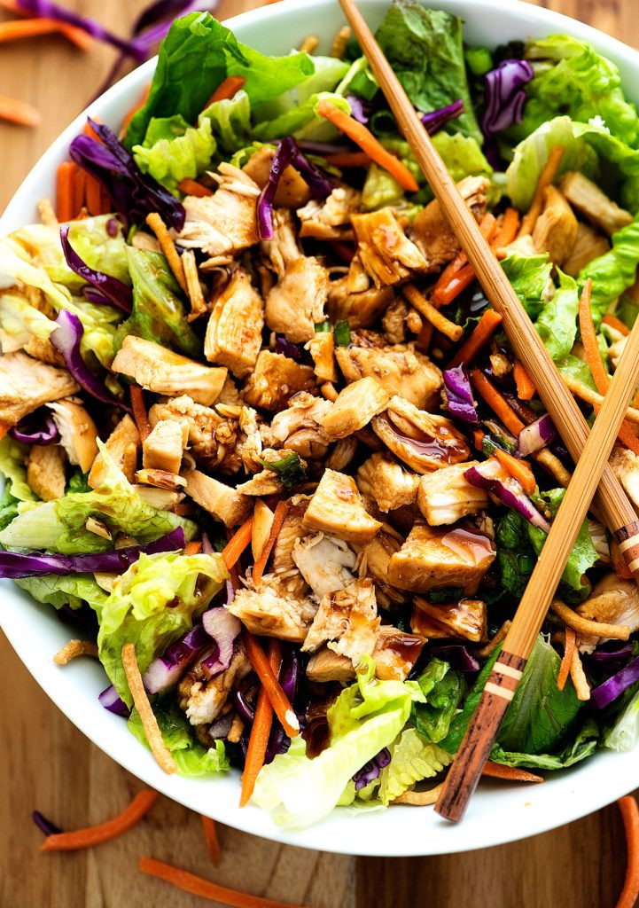 Chinese Salads Recipes  Chinese Chicken Salad Life In The Lofthouse