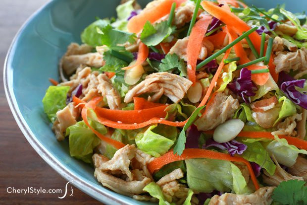 Chinese Salads Recipes  easy chinese chicken salad recipe