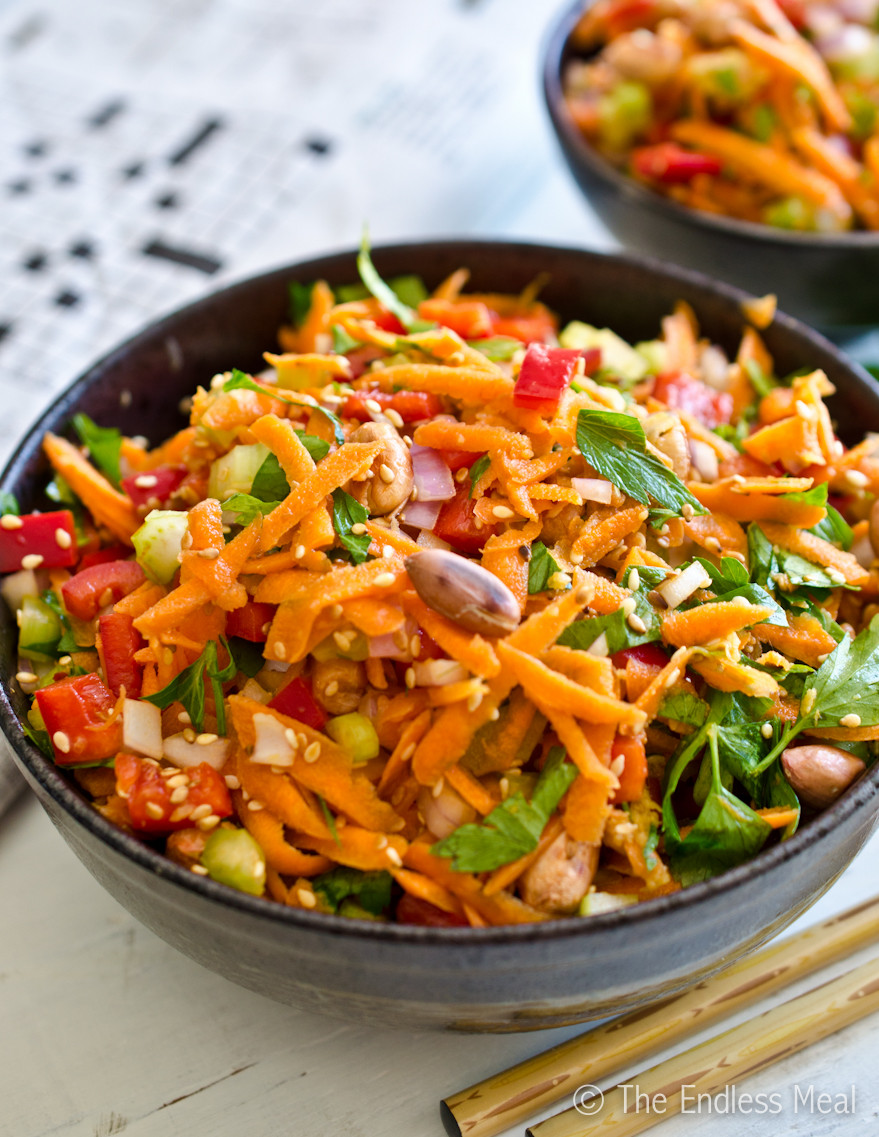Chinese Salads Recipes  Asian Salad Recipe