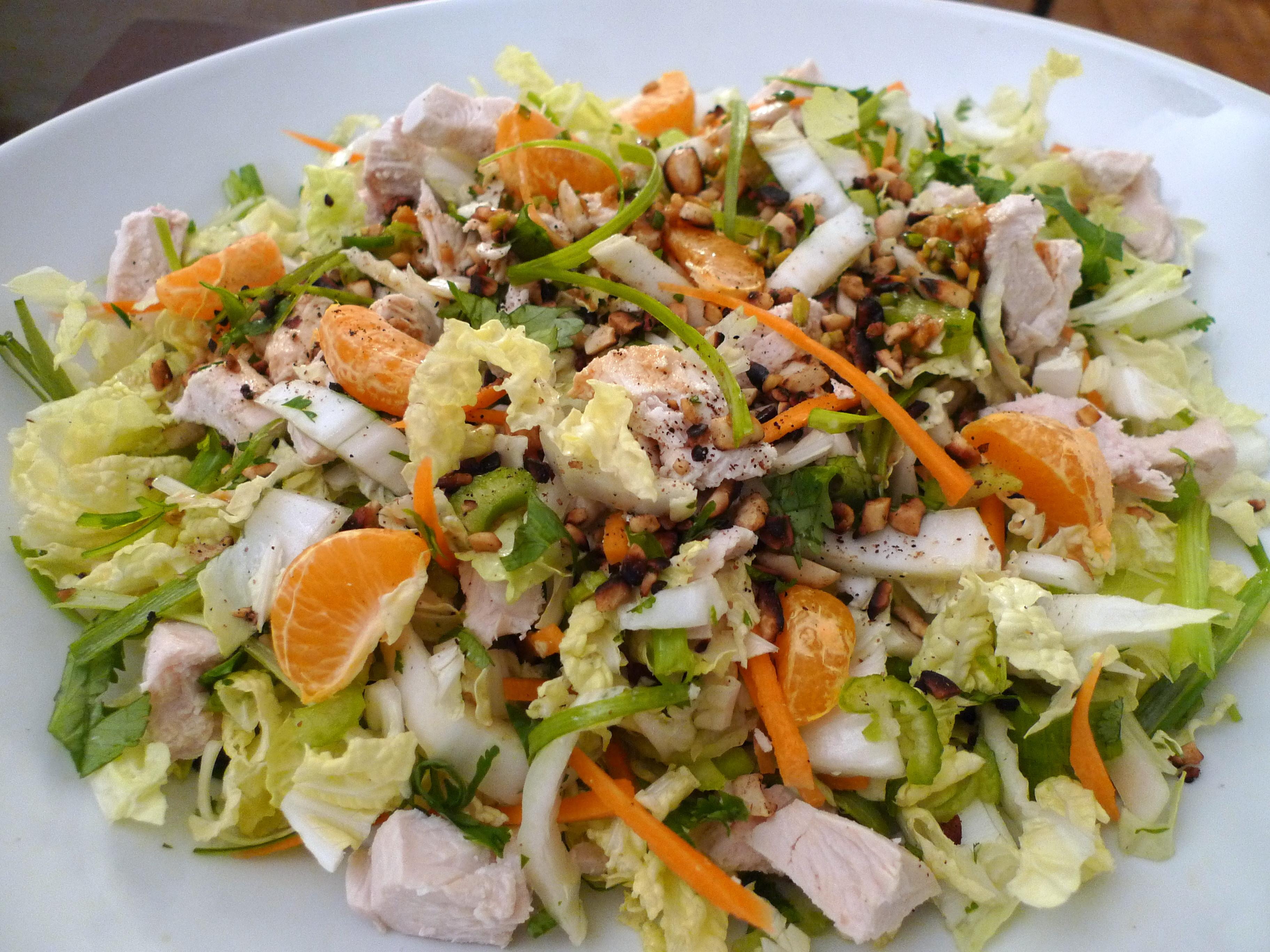 Chinese Salads Recipes  Chinese Chicken Salad Recipe — Dishmaps