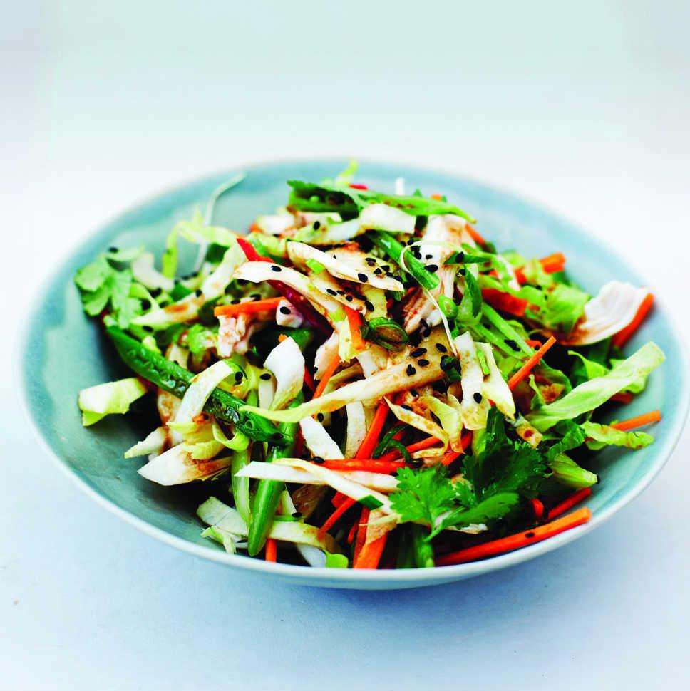 Chinese Salads Recipes  Chinese chicken salad dressing recipe Chatelaine