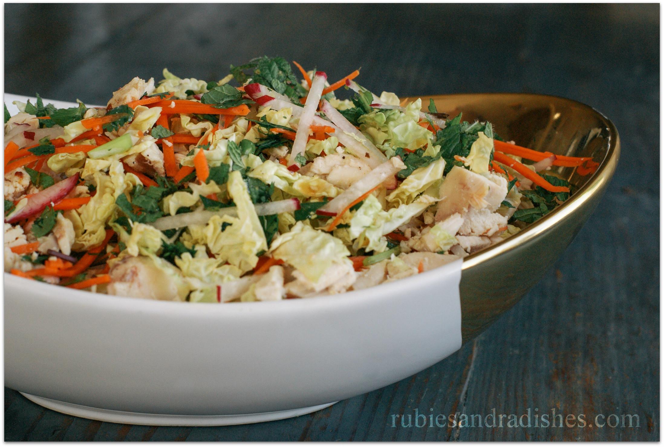 Chinese Salads Recipes  Chinese Chicken Salad Recipe Rubies & Radishes