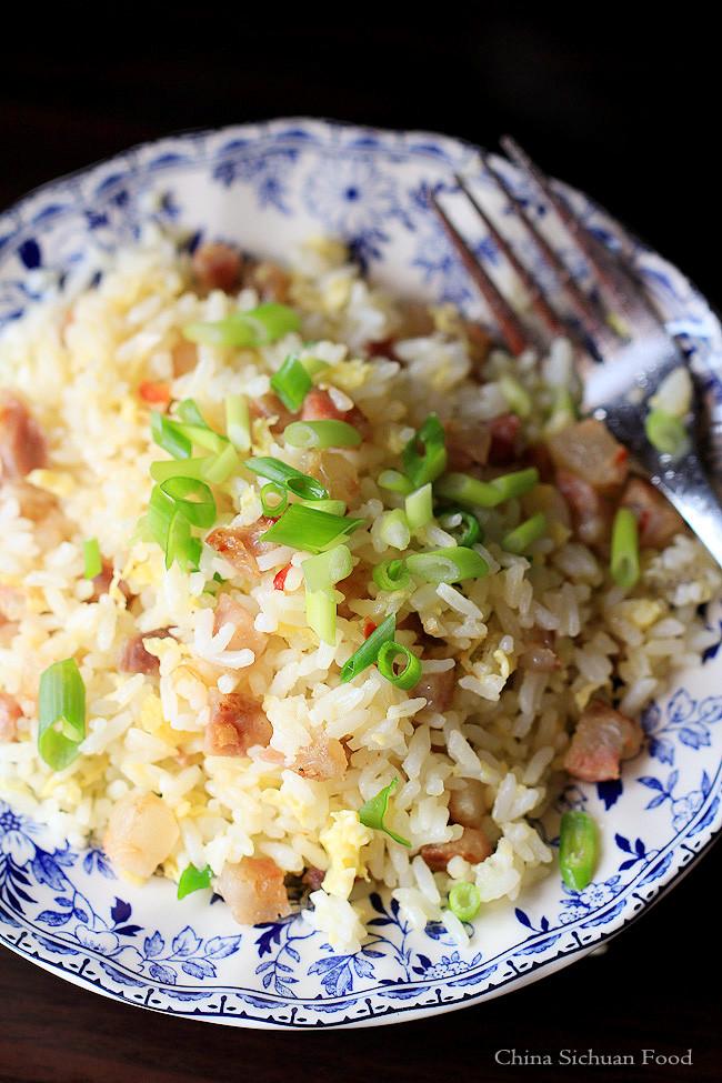 Chinese Sausage Fried Rice  Sausage Fried Rice