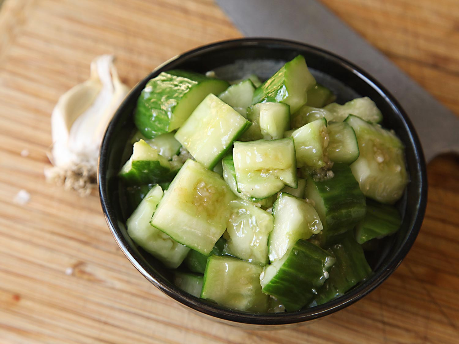 Chinese Side Dishes  Smash Your Cucumbers for a Smashingly Simple Chinese Side