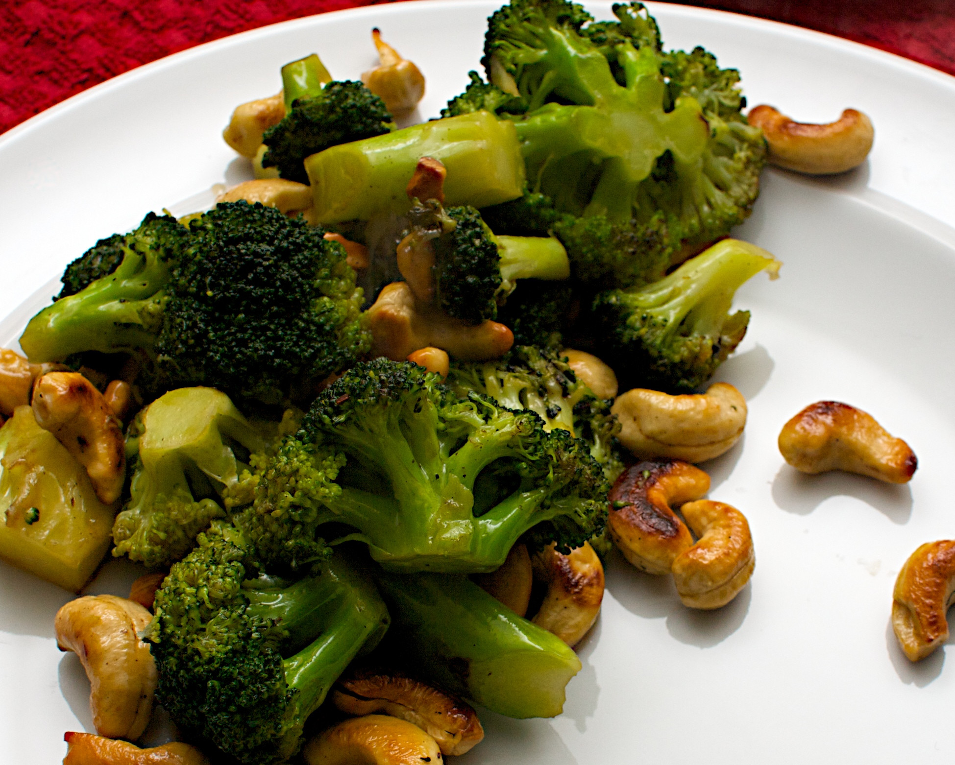 Chinese Side Dishes  Chinese side dish Broccoli with Cashews & Oyster Sauce