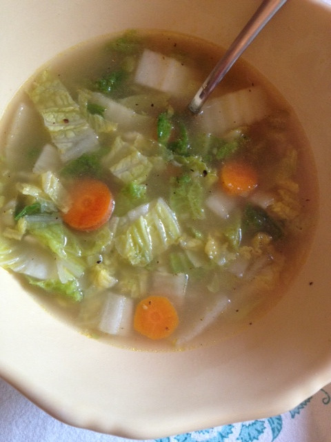 Chinese Soup Recipes  chinese cabbage soup recipe