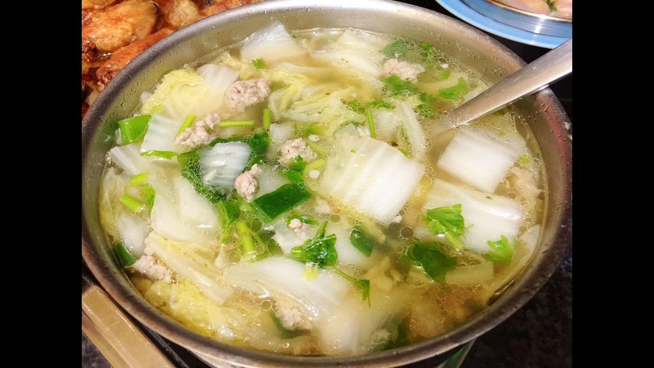 Chinese Soup Recipes  Soup Recipes Quick & Easy Chinese Cabbage Soup Recipe