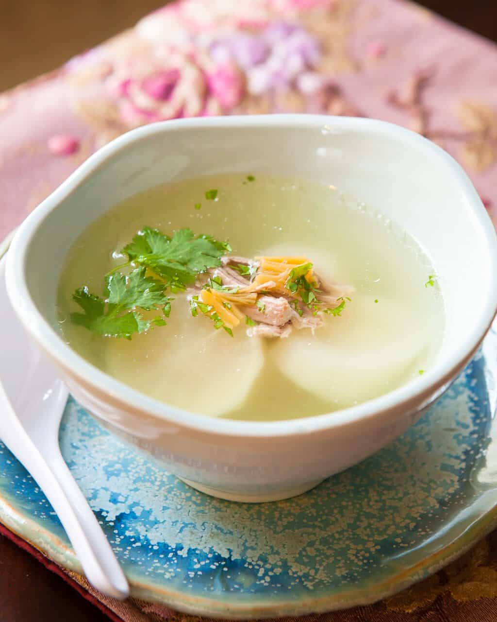 Chinese Soup Recipes  Chinese Daikon Soup Recipe • Steamy Kitchen Recipes