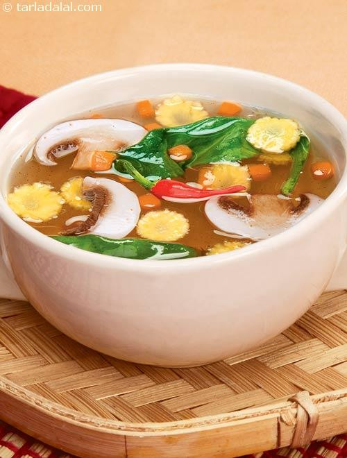 Chinese Soup Recipes  Chinese Ve able Trio Soup Diabetic Recipe recipe